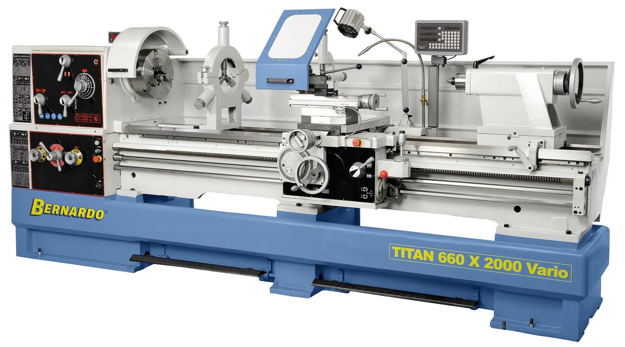 Titan 800 x 3000 Vario drejebænk