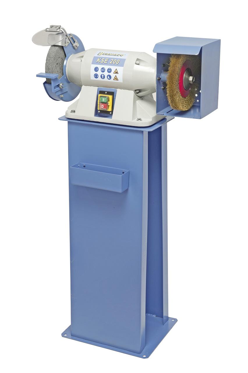 Image of   KSE 200 Bænksliber med stålbørste 230 eller 400 volt