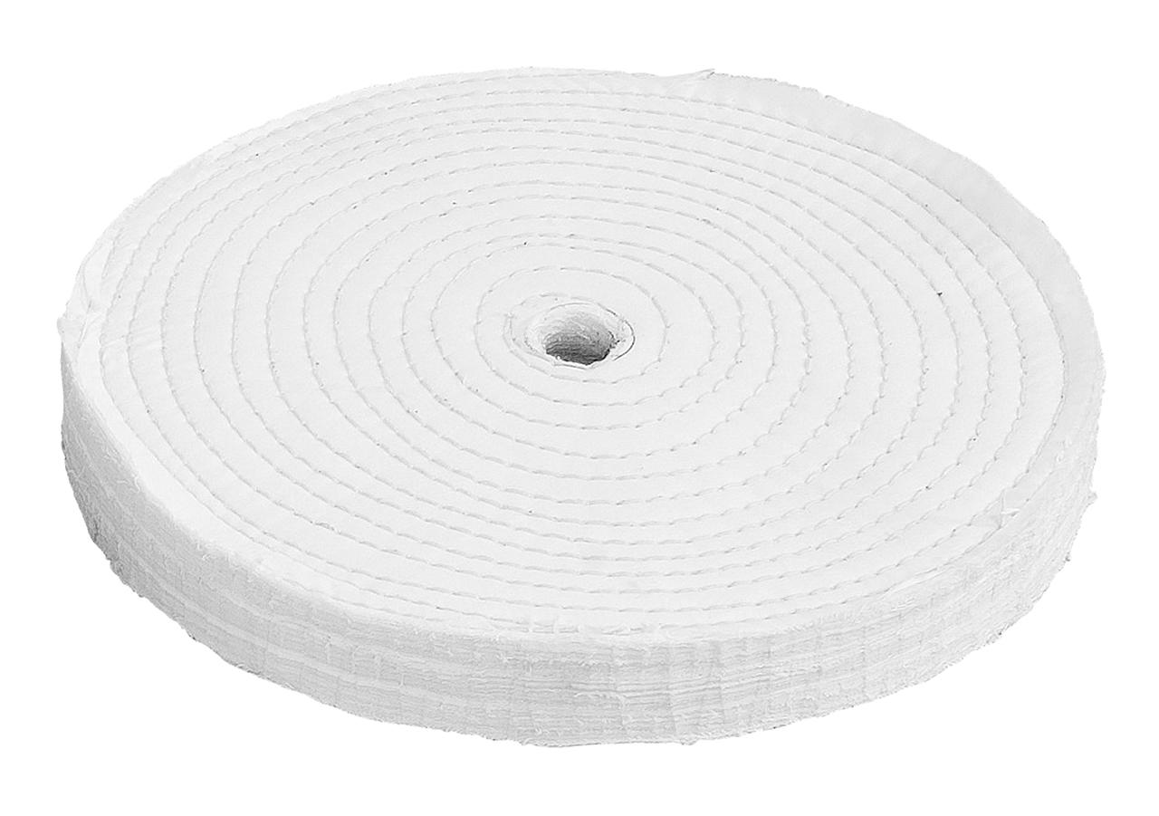 Kludeskive til polering hård 200 x 20 x 12,7 mm