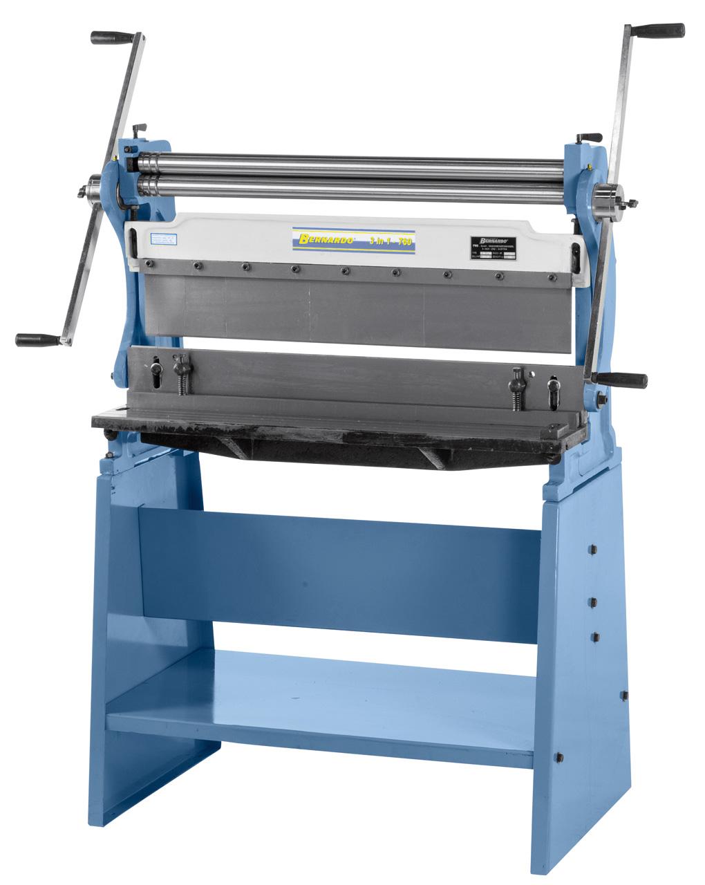 Pladebearbejdningsmaskine 3 i 1 Bernardo - 760mm
