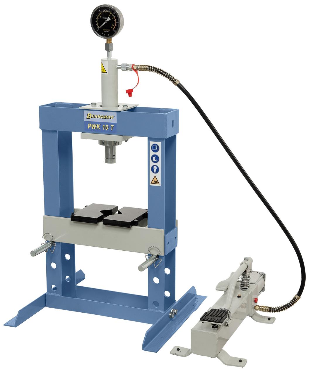 PWK 10 T Pneumatisk presse Bernardo 10 ton