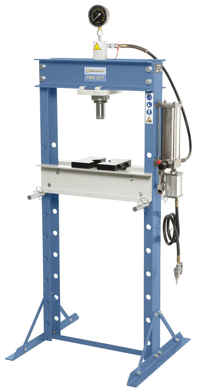 PWK 20 F Pneumatisk presse 20 ton