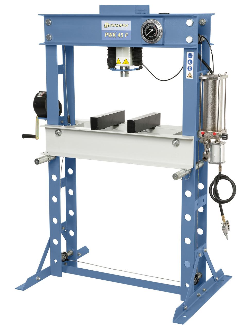 PWK 45 F Presse pneumatisk