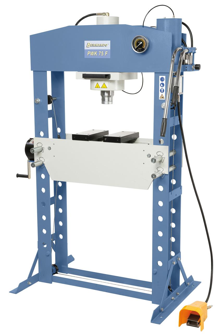 PWK 75 F pneumatisk presse