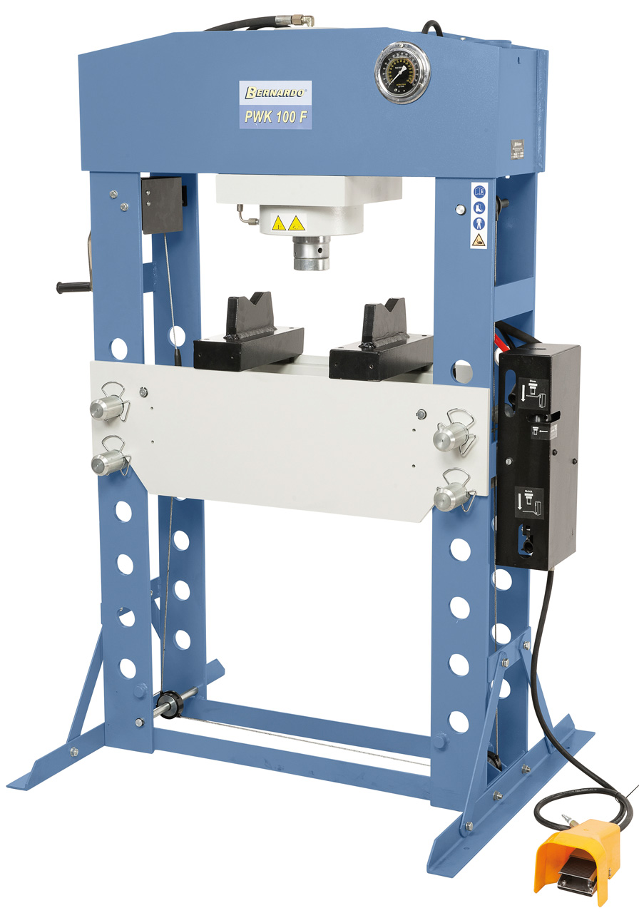 PWK 100 F Pneumatisk 100tons værkstedspresser