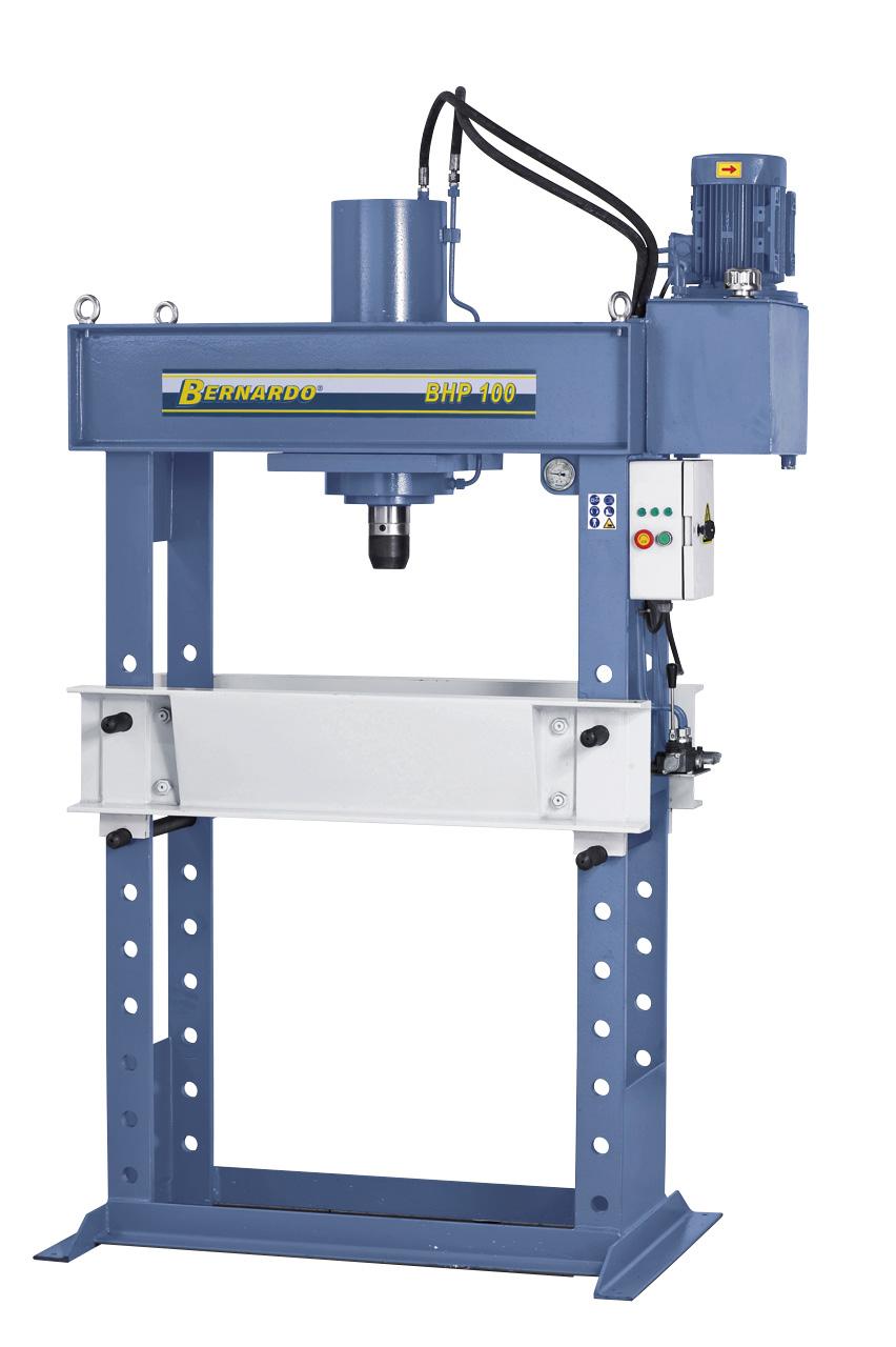 BHP 100 hydraulisk værkstedspresse