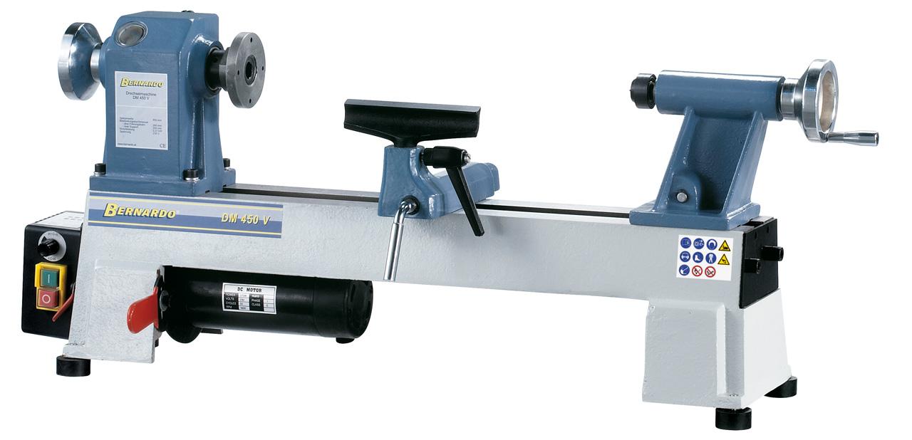 DM 450 V Trædrejebænk med variabel hastighed