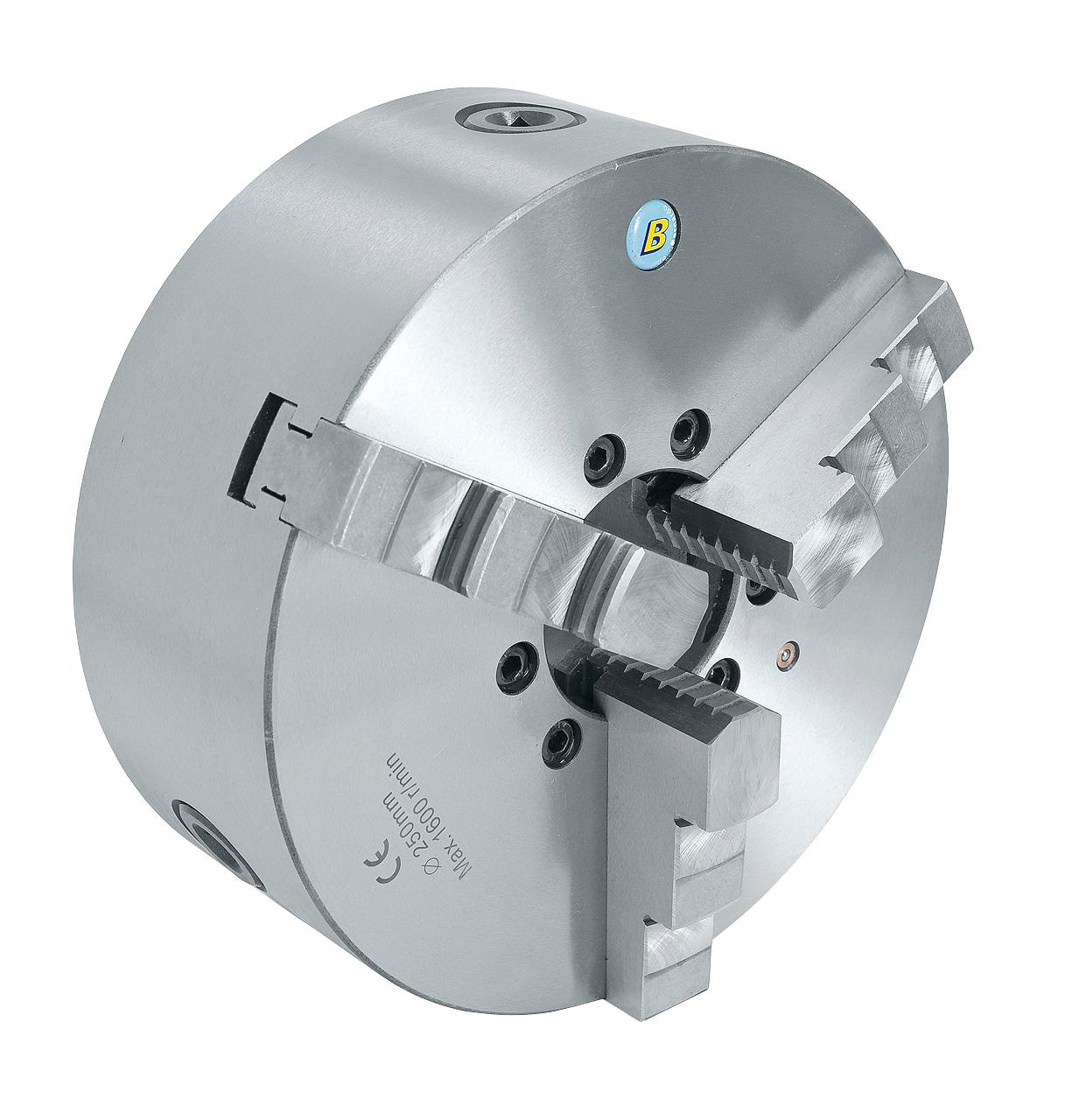 3 bakket centrerpatron standard K11-125/D4