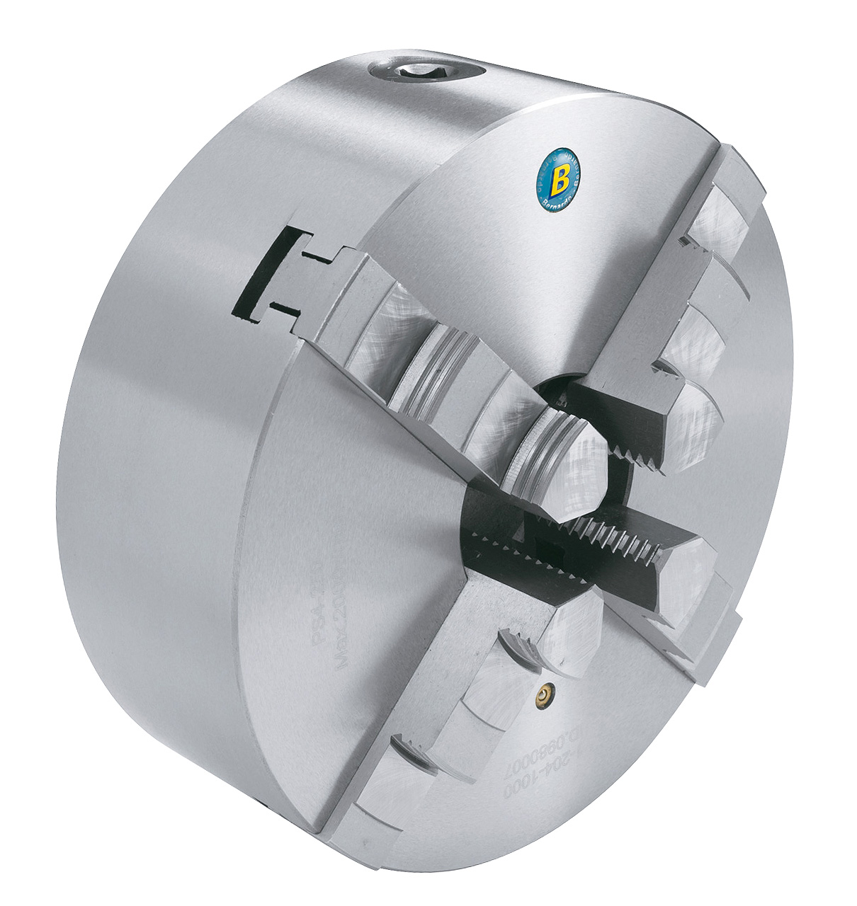 Standard-4-bakket centrerpatron DK12-125