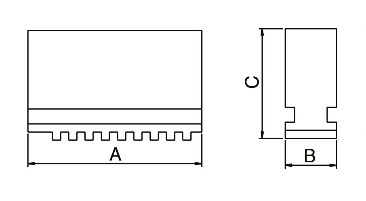 Image of   Bløde bakker til centrerpatron DSJ-DK11-125