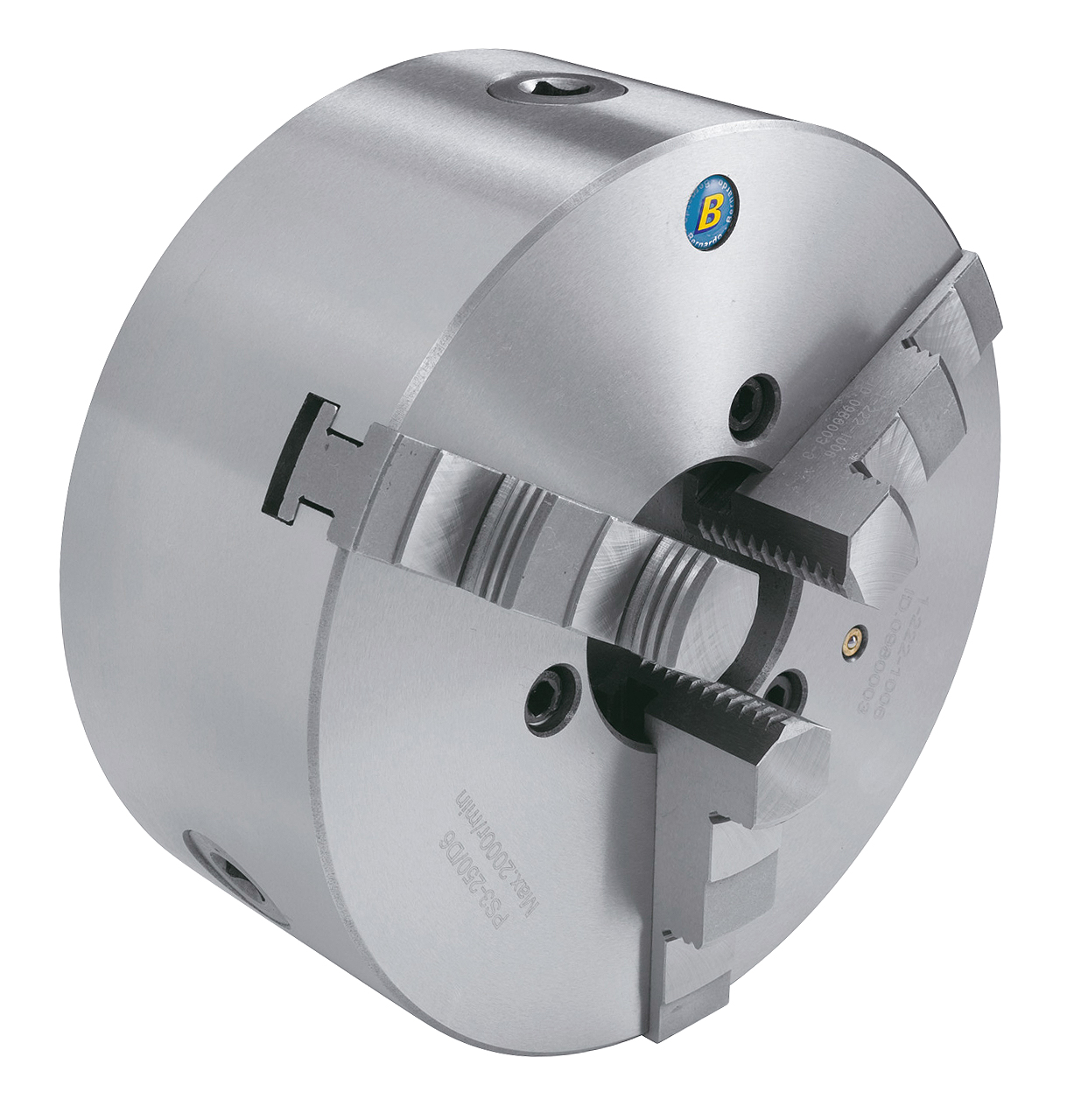 Image of   3 bakket centrerpatron standard PS3-200/D6
