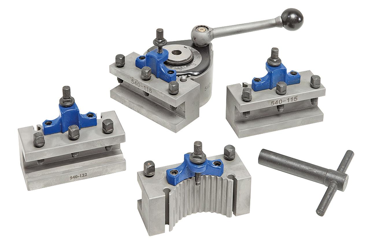 Hurtigskiftesæt til stålholdere System Multifix størrelse A