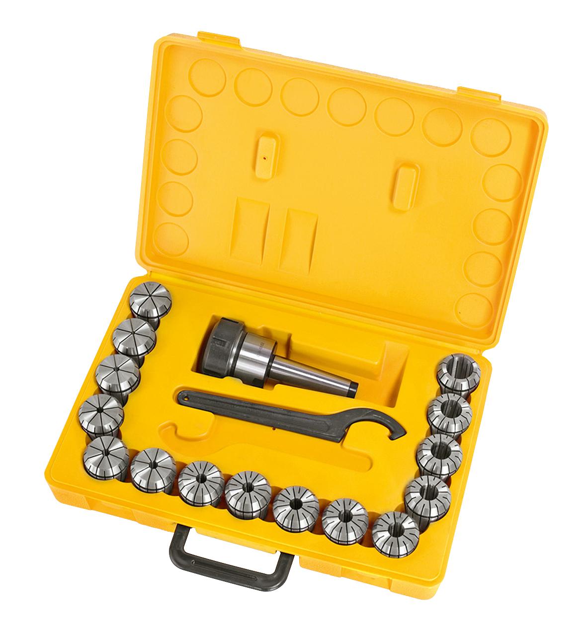 Spændetænger i sæt ER40, MK 3, 3 - 25 mm