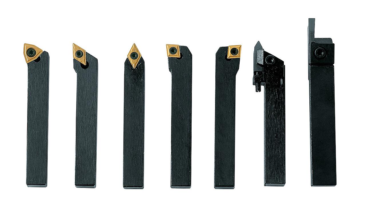 Drejestål TiN-belagt, 8 mm, Sæt A