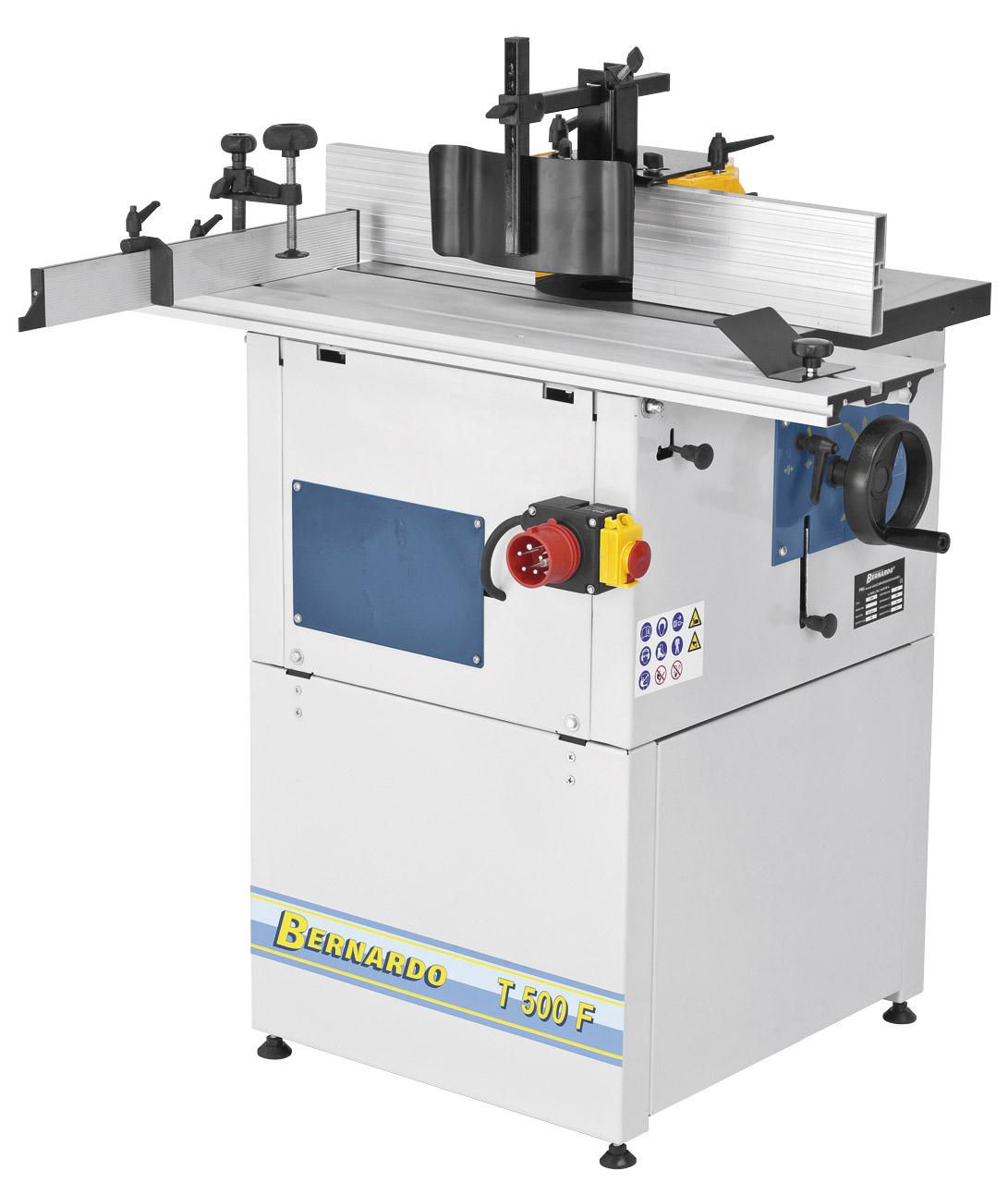 Image of   T 500 PF - Bernardo spindelfræsemaskine med rullebord