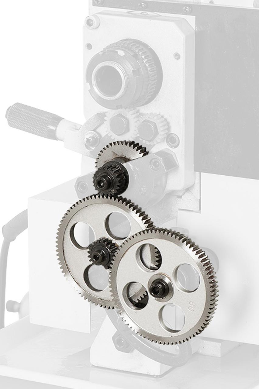 Image of   Gevindtandhjul i metal til drejebænke - metal