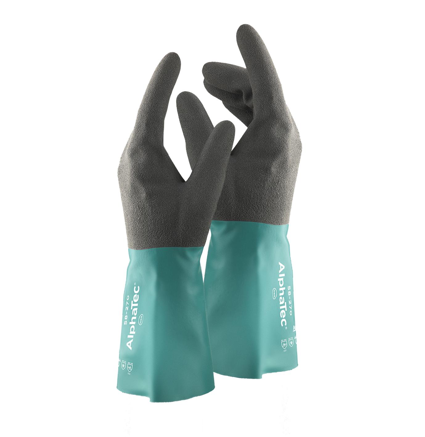 Image of   AlphaTec nitril handske