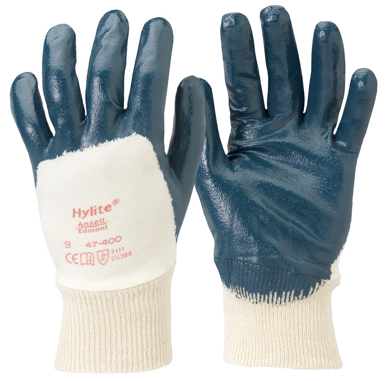 Image of   Hylite handske m/rib